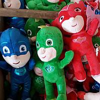 """Мягкая игрушка кукла из м/ф Мультик PJ Masks""""Герои в масках"""", 3 вида, разм. 27см"""