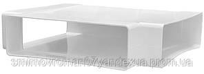 Тройник плоский, пластмассовый 278х243х204мм / 60-184, 60х204 мм, 278х243х204 мм (620ТПП)