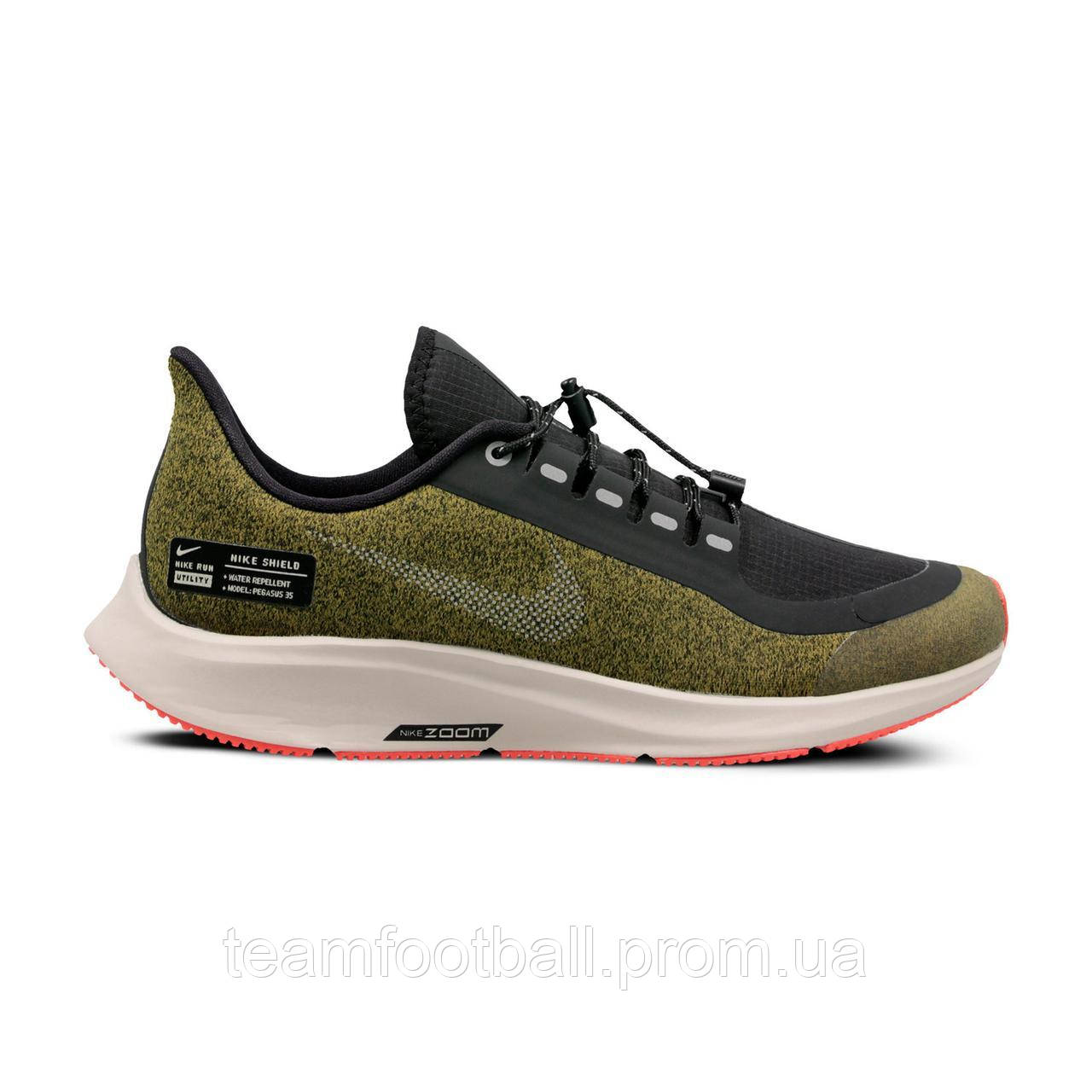 f24df641 Кроссовки Nike Детские AIR ZOOM PEGASUS 35 SHIELD GS(03-01-16) 40 ...
