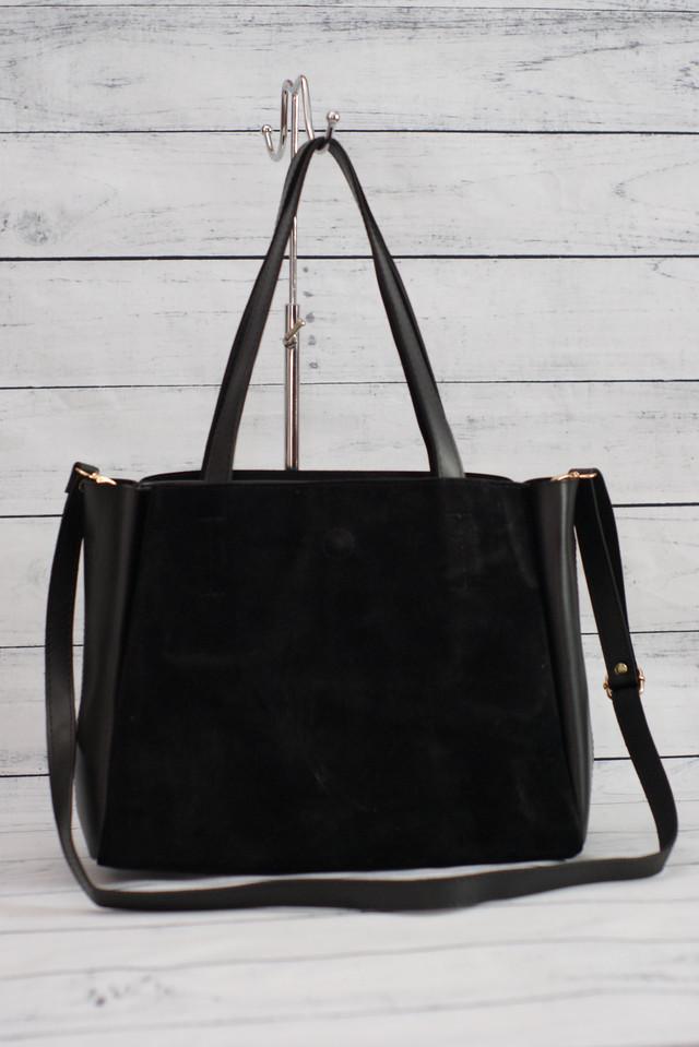 Женская замшевая сумка