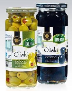 Оливки Iberia зеленые с паприкой 340 г, фото 2