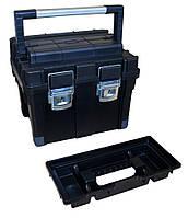 """Ящик для инструмента пластиковый 24"""", металлический замок / 52-561,"""