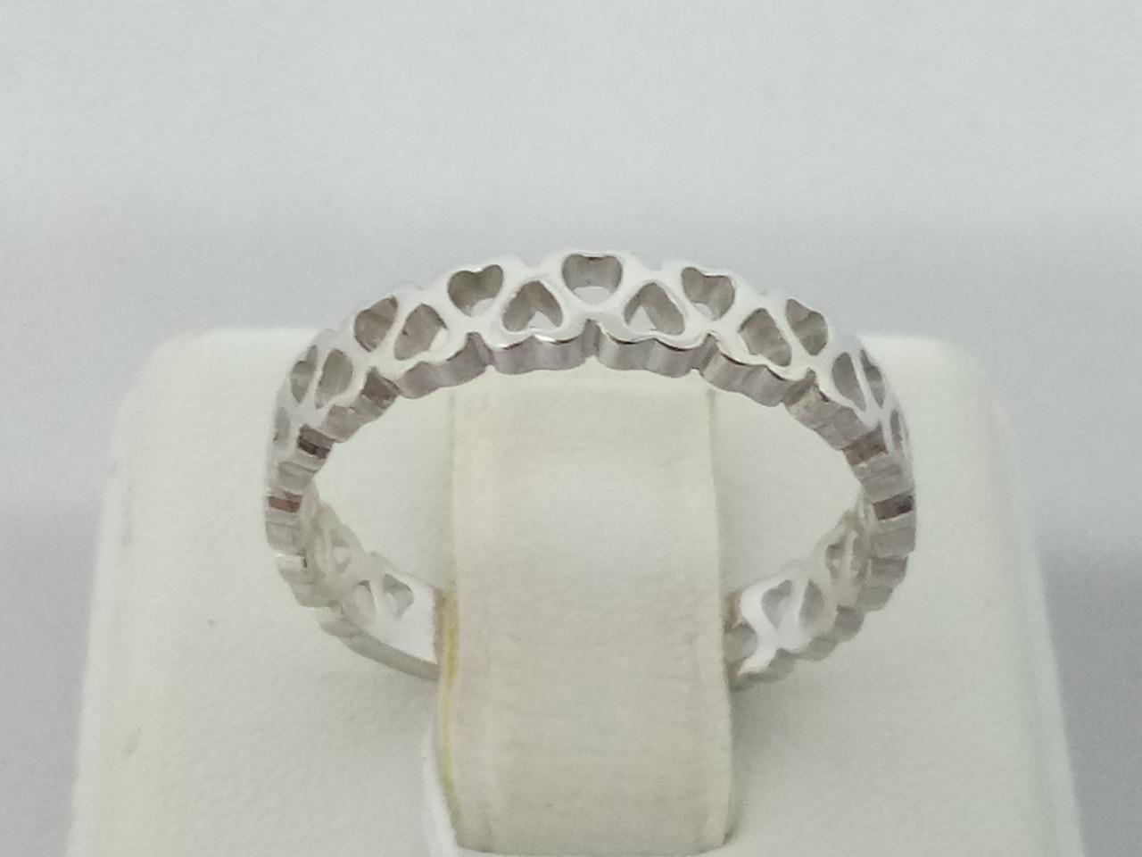 Серебряное кольцо. Артикул 10068р 17,5