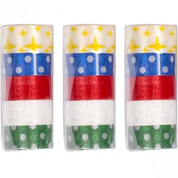 Серпантин разноцветный «Горошек», фото 2