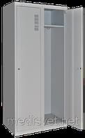 Шкаф для халатов медицинский двухстворчатый ШХМ-2