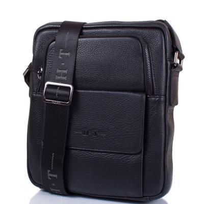 824892af13df Сумка повседневная H.T Мужская кожаная сумка H.T (ЭЙЧ ТИ) TU7892-4-black