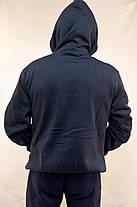 Толстовка спортивная мужская зимняя с капюшоном Street & Style, фото 3