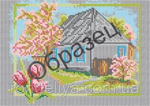 Схема для вышивки бисером «Весна»