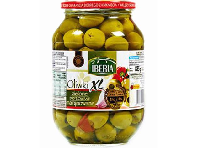 Оливки Iberia зеленые без косточек 835 г, фото 2