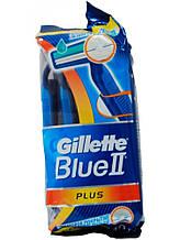 Набір одноразових станків для гоління Gillette Blue II Plus 10 шт в упаковці