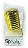 Портативная колонка Микрофон в стиле ретро Золотой (SKD-0180)