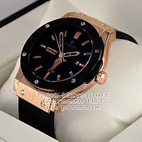 Мужские наручные часы Hublot Classic Fusion FIFA World Cup Gold Black Хублот качественные люкс реплика, фото 1