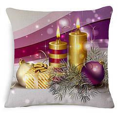 Декоративная подушка Новый год подарочная