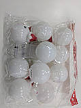 """Новорічна світлодіодна гірлянда """"Сніговички"""" 10 LED на батарейках , фото 7"""