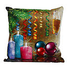 Декоративная подушка Новый год подарочная, фото 2