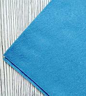 Фетр полиэстер Голубой 21x29,7см 1мм Китай