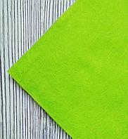 Фетр полиэстер Салатовый 21x29,7см 1мм Китай, фото 1
