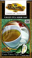 Чай Minhaj зеленый с саусэпом 100 г.