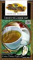 Чай зеленый с саусэпом Minhaj  100 г.