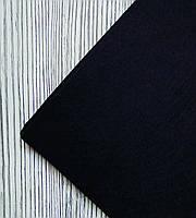 Фетр полиэстер Черный 21x29,7см 1мм Китай