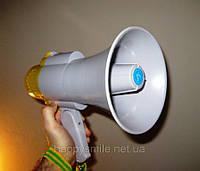 Ручной рупорный мегафон с функцией записи Megaphone RD-8S, фото 1