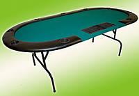 Стіл покерний, складний, до 10 гравців, фото 1