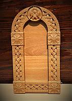 Деревянная рамка размером 260*145*20мм для фотографий, икон или зеркала от производителя.