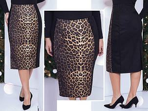 Женская леопардовая юбка 149