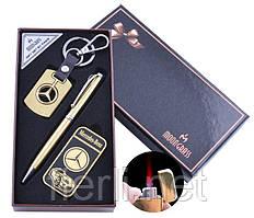 Подарочный набор брелок/ручка/зажигалка Mercedes-Benz (Турбо пламя)