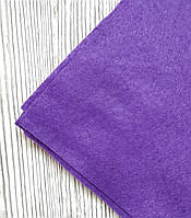 Фетр полиэстер Фиолетовый 21x29,7см 1мм Китай, фото 1