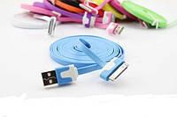 USB дата кабель для Iphone 2g 3g 4 4s, плоский