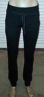 Женские спортивные брюки двунитка на манжете