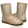 Женские угги UGG Classic Short leather Sand original