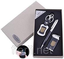 Подарочный набор брелок/ручка/зажигалка Украина (Острое пламя) №ST-5621
