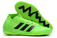 Футзалки (бампы) adidas Nemeziz Tango 18.3 IC Solar Green/Core Black/Solar Green, фото 1