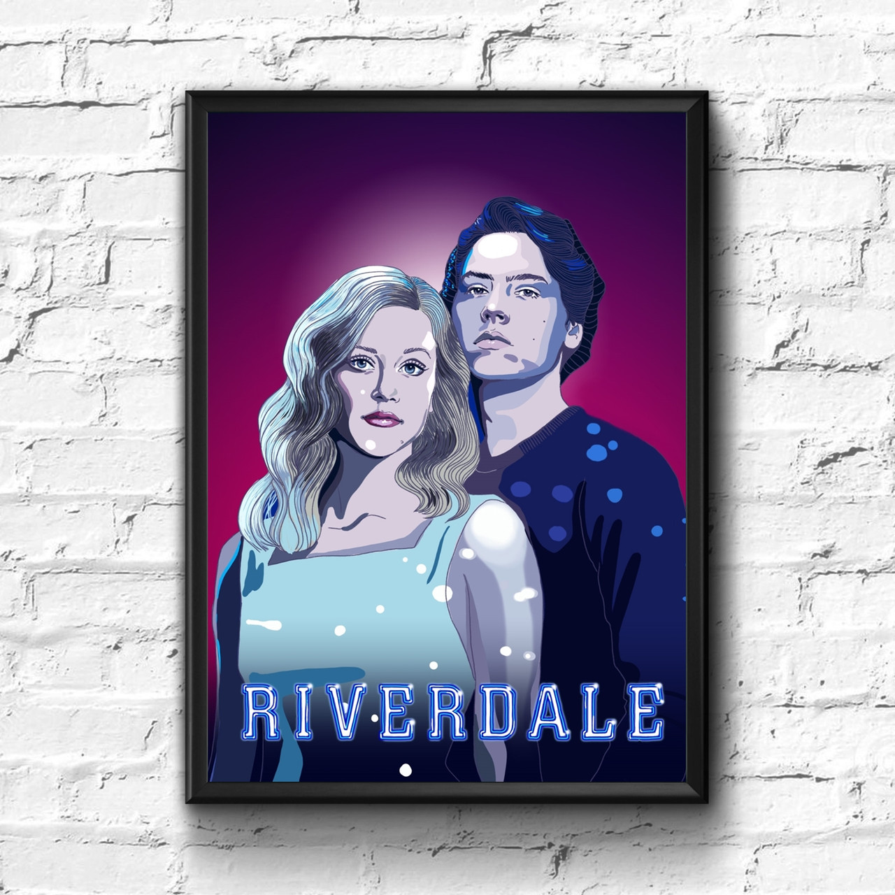 Постер с рамкой Riverdale #4