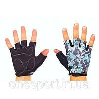 Перчатки спортивные SCOYCO ВG14-BKBL