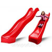 Скользкая детская горка Swing King Red 3м (Бельгия)