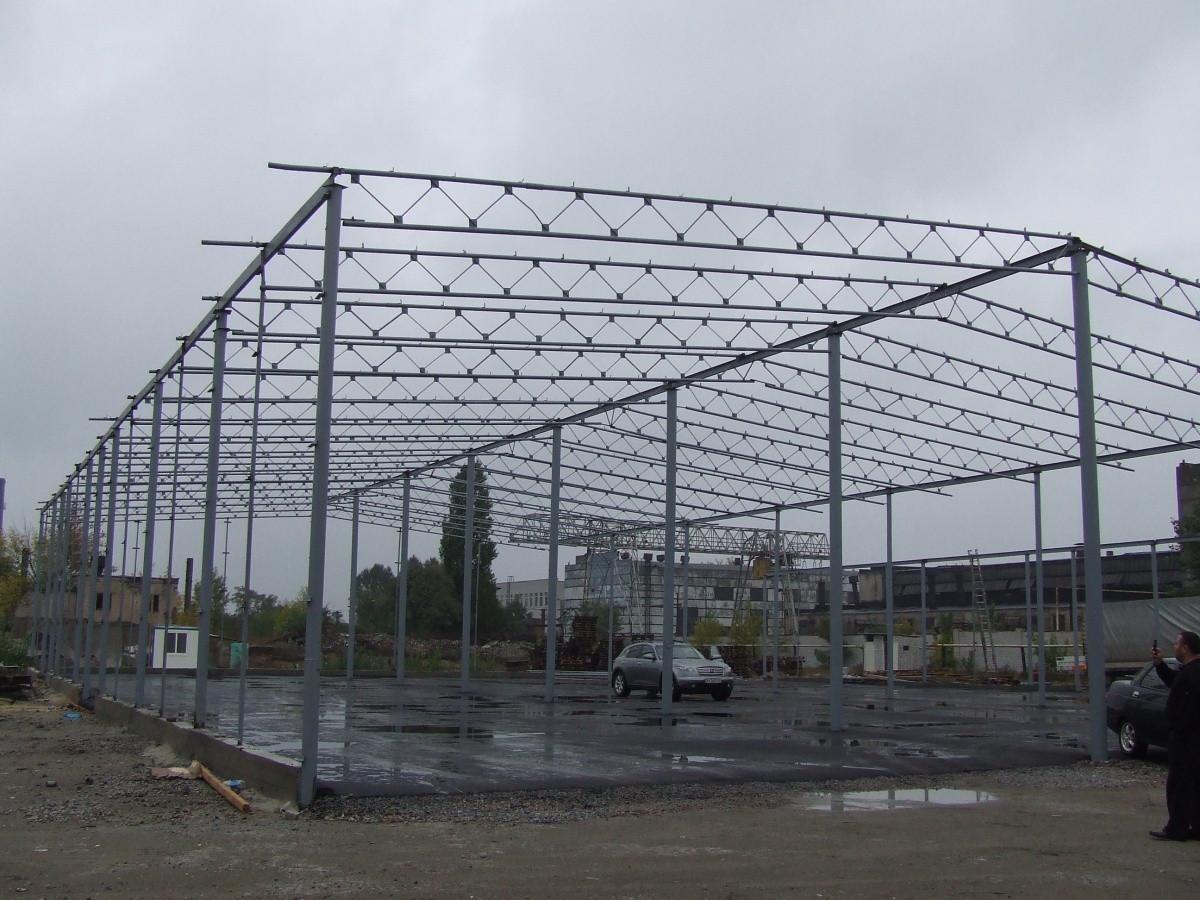 Строительство ангаров.складов.зернохранилищ.