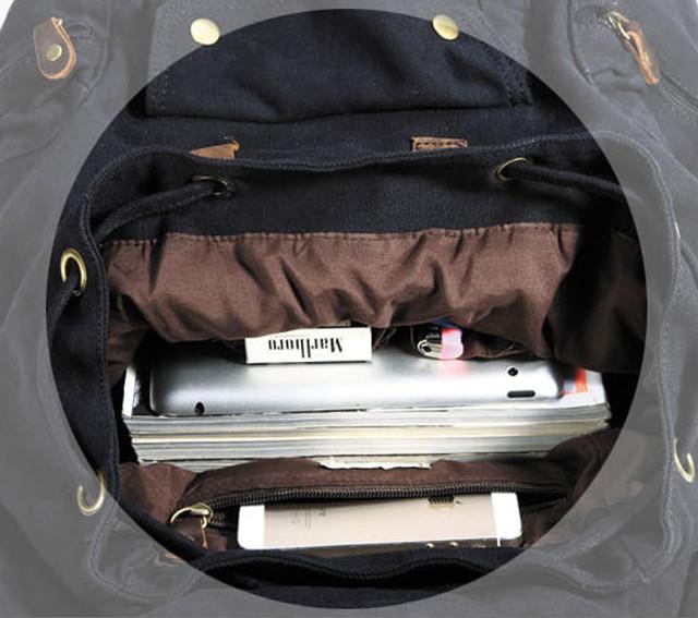 Городской рюкзак главное отделение