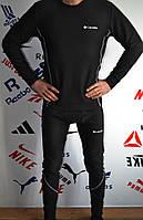 Термокостюм мужской в стиле Columbia, флис, полиестер код товара SDK-2102. Черный