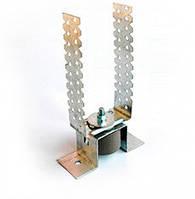 Звукоизоляционное крепление потолочное с П-образным кронштейном Vibrofix SPU