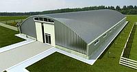 Строительство бескаркасных арочных ангаров,складов,елеваторов