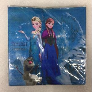 Салфетки  Холодное сердце  15 штук . для детского дня рождения  бумажные двухслойные детские