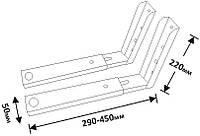 Кронштейн для мікрохвильовки КБ-10 білий