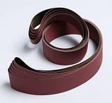 Шлифовальные ленты 3M™ 777F P80  (89 х 394 мм.)  с минералом  Cubitron™. Лента для надувного барабана., фото 4