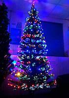 Елка новогодняя светодиодная 210 см высотой, vip210