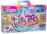 Автомойка Меняем цвет Спа салон для машин шопкинс, Cutie Car Spa Wash Playset Splash 'N' Go Spa Wash