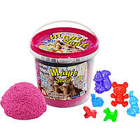 Кинетический песок Strateg Magic Sand 1000 г Розовый Клубника (372-11,037-3)