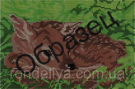 Схема для вышивки бисером «Бемби»